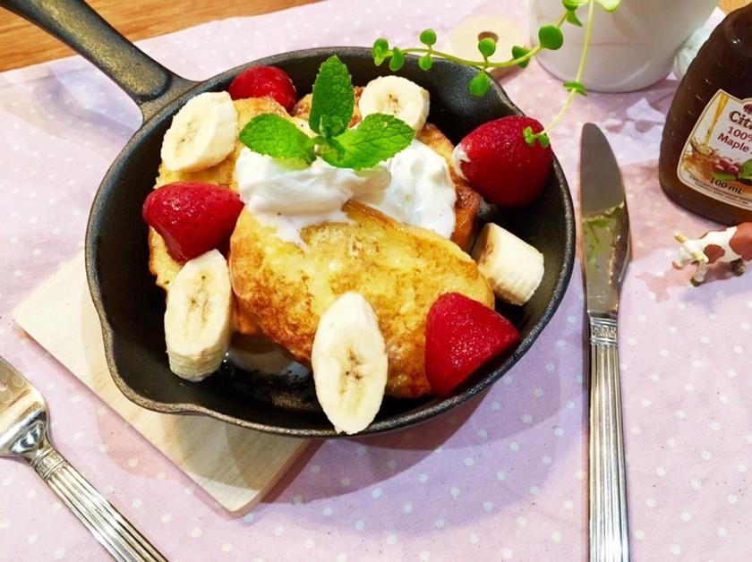 おうちカフェ♡ふわふわフレンチトースト