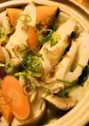 ちくわ&エリンギの野菜うどん鍋