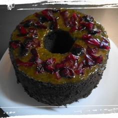 サルナシ・ジャムのブラック・シフォン