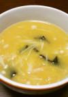 きのこの中華コーンスープ