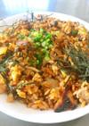 神ウマ!簡単韓国風焼肉キムチチャーハン