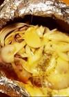 豚ヒレ肉の甘辛アルミホイル焼き