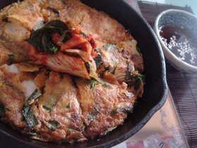 韓国風お好み焼き