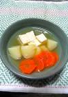 ❖じゃが芋と木綿豆腐と人参の煮物❖