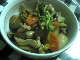 カブと舞茸の煮物