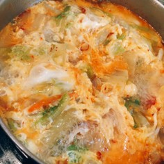 ピリ辛食べるスープ