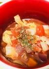 私のミネストローネ風トマトスープ
