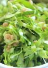 キャベツ納豆