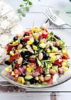 糖質制限★お豆のカラフルレインボーサラダ