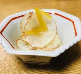 簡単 菊芋の黒酢ゆず茶漬け