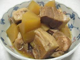 豚バラ肉と大根のさっぱり煮