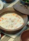 レンジで簡単!クラムチャウダー風スープ