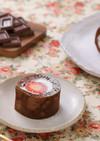 卵焼き器でできる!チョコロールケーキ