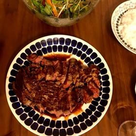 牛肩ロースのポンドステーキ