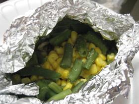 ぽかぽか野菜のホイル焼き