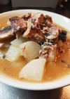 大根と鯖水煮缶の煮物