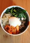 モテレシピ!タレで簡単、韓国風ビビンパ