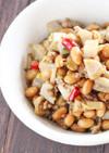 ご飯がすすむ!大豆と蓮根のピリ辛炒め