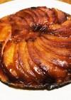 りんごのタルトタタン風パンケーキ