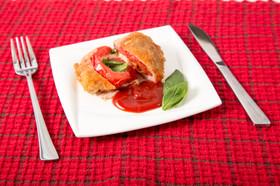 チーズトマトの豚肉巻き