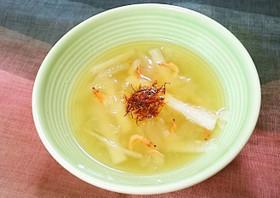薬膳!冬瓜と長芋のスープ