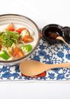 飛鳥なべ風冷製スープ