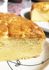 クリチ、生クリ不要!ふわふわチーズケーキ