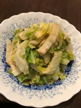 簡単白菜の和え物