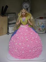 バービー♪バースデーケーキの写真