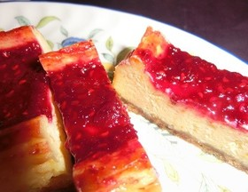 ふむ's 金柑チーズケーキ