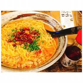 ねりごまで絶品担々麺♡スープ飲み過ぎ注意