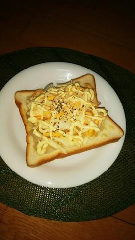 チーズトースト♡玉葱で美味しい