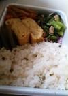 鰻弁当に、山椒の炊き込みご飯