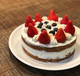 クリーム足りなかったショートケーキ!