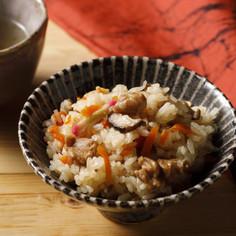 炊飯器で簡単!鶏肉と舞茸の炊き込みご飯
