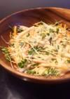 大根と人参の簡単味噌マヨサラダ