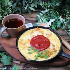 焼きチーズオムライス