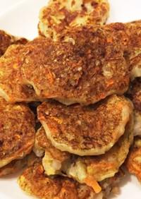 【離乳食・幼児食】白菜と挽肉のお好み焼き