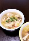中華味の素で簡単スープ