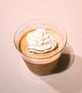 簡単!コーヒー風味の濃厚パンナコッタ♥️