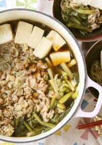 わけぎ(ネギ)を食べよう!肉豆腐★鍋