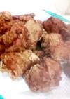 カリカリジューシーピリ辛な鶏から揚げ