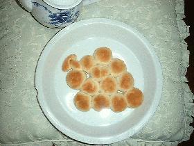 ぶどう狩りのプチローフパン