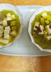 高齢者のための豆腐アヒージョ