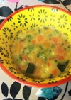 離乳食後期☆かぼちゃと野菜の豆乳シチュー