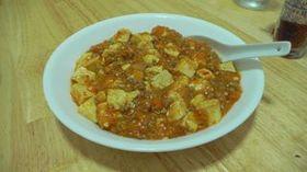 激辛簡単麻婆豆腐