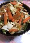 簡単・節約 残り野菜と春雨の丼