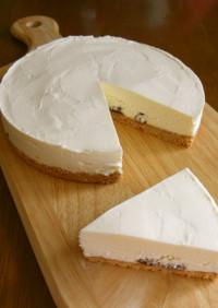 濃厚 ホワイトチョコのレアチーズケーキ