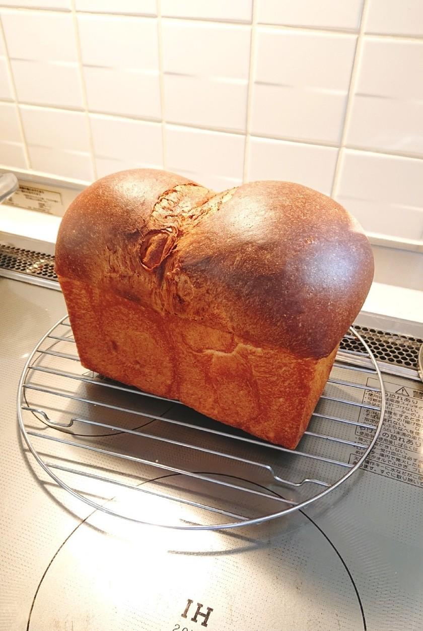 隠し味有!低糖ブラン食パン~HBでも
