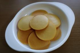 米粉ときなこのパンケーキ 離乳食